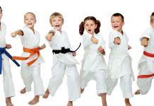 Martial arts kids.