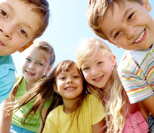 Summer camp kids.