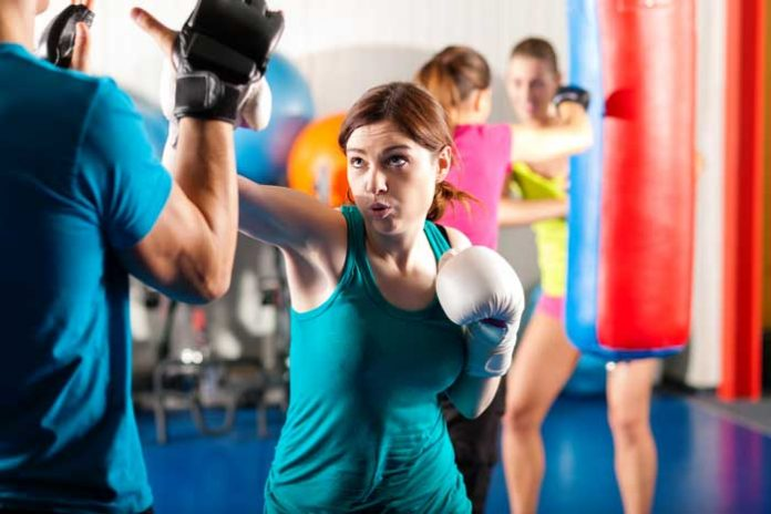 martial arts workout