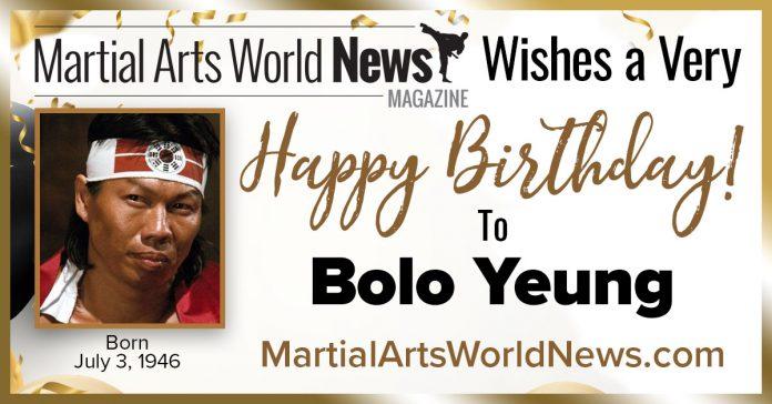 Bolo Yeung birthday