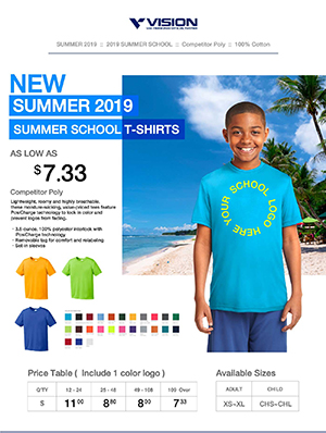 Vision T-shirt Summer School