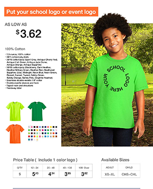 Vision T-shirt from $3.62
