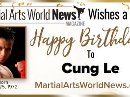 Cung Le Birthday