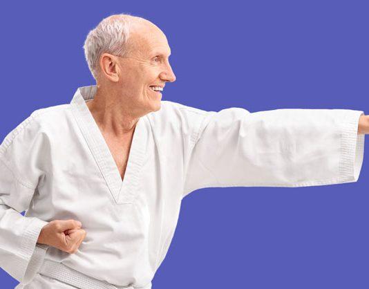 senior martial artist