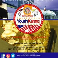 16th ANNUAL CALIFORNIA YOUTH KARATE NATIONALS CHAMPIONSHIPS