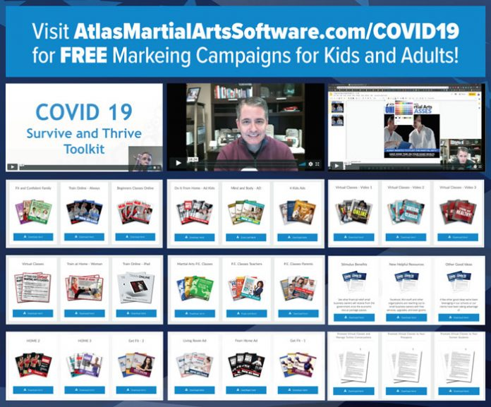 covid-19 martial arts marketing