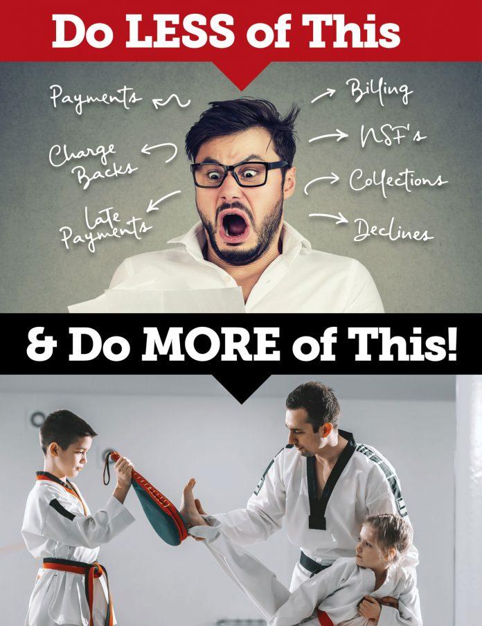AMS martial arts billing