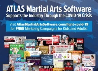 marial arts covid ads