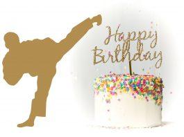Happy Birthday martial artists