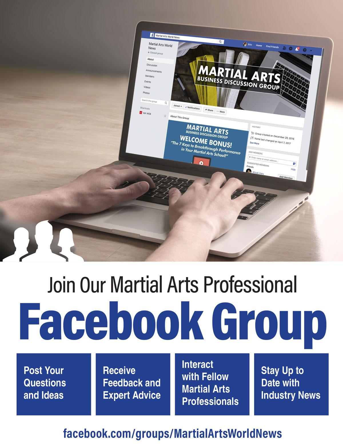 Martial Arts Facebook Group