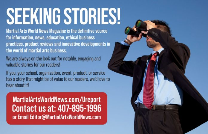 Seeking martial arts stories