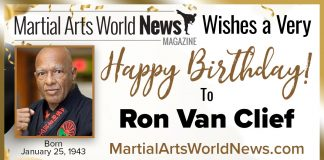 Ron Van Clief birthday