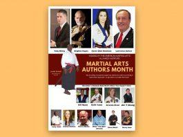 martial arts authors month