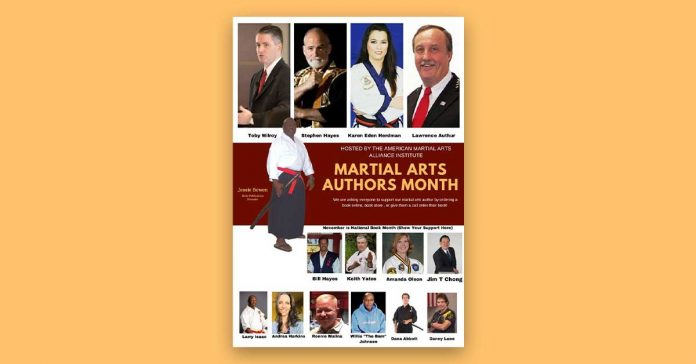 martial arts authors month