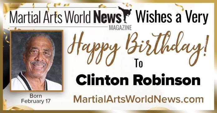 Grandmaster Clinton Robinson birthday