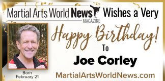 Joe Corley Birthday
