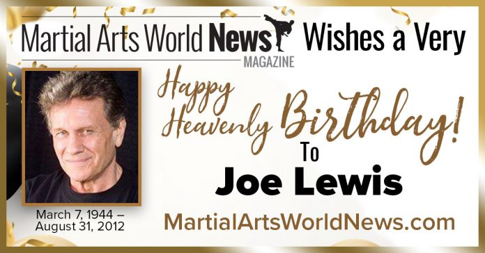 Joe Lewis birthday