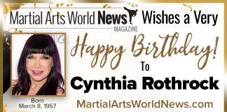 Happy Birthday Cynthia Rothrock