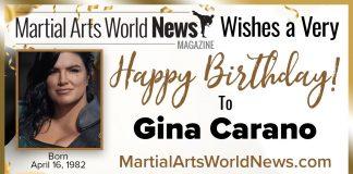 Gina Carano birthday