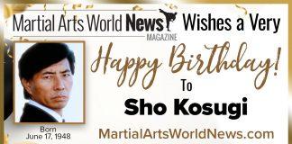 Sho-Kosugi birthday