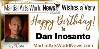 Happy Birthday Dan Inosanto
