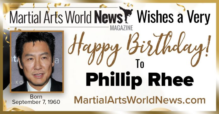 Phillip Rhee birthday