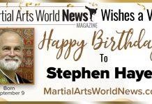 Stephen Hayes Birthday