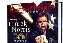 Masters and Pioneers martial arts Chuck Norris