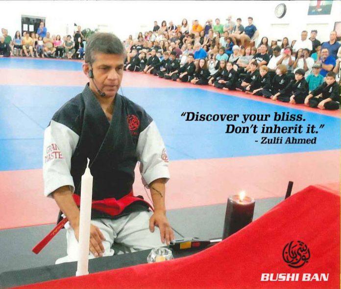 Zulfi Ahmed teaching