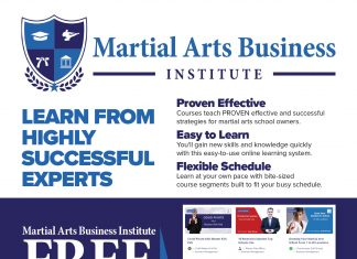 Martial Arts Business Institute ad