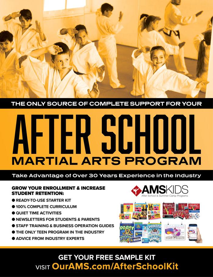 AMS Kids after school martial arts